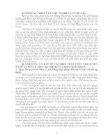 NỘI DUNG CƠ BẢN VỀ CÁC BIỆN PHÁP THỰC THI QUYỀN SỞ HỮU TRÍ TUỆ THEO QUI ĐỊNH CỦA HIỆP ĐỊNH TRIPS