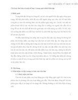 Các loại văn bản và một số lưu ý trong quá trình biên tập