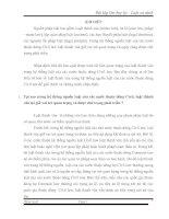 Bài tập lớn học kỳ - Luật so sánh