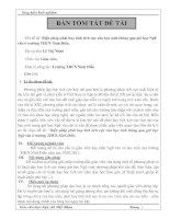 Biện pháp phát huy tính tích cực của học sinh thông qua giờ học Ngữ văn ở trường THCS Ninh Điền