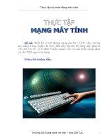 Thiết kế và mô phỏng mạng cục bộ ( LAN ) cho trường cao đẳng Công Nghệ Hà Nội