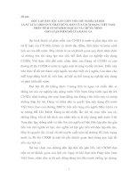 ĐỘC LẬP DÂN TỘC GẮN LIỀN VỚI CHỦ NGHĨA XÃ HỘI  LÀ SỰ LỰA CHỌN DUY NHẤT ĐÚNG ĐẮN CỦA CÁCH MẠNG VIỆT NAM. PHÂN TÍCH CƠ SỞ KHÁCH QUAN VÀ CHỨNG MINH  CHO LUẬN ĐIỂM ĐÓ CỦA ĐẢNG TA