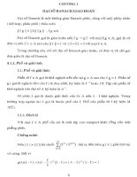 đại số banach và đại số đều trong giải tích phức, chương 1