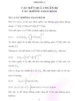 Luận Văn tốt nghiệp-Nghiên Cưú một số phương trình nhiệt  phi tuyến trong không gian Sobole có trọng  3_2