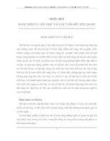 NGHIÊN CỨU XÃ HỘI HỌC VÀ CÁC VẤN ĐỀ LIÊN QUAN