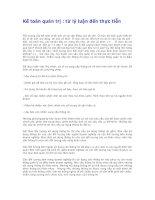 Kế toán quản trị : từ lý luận đến thực tiễn