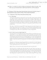 CƠ SỞ LÝ LUẬN VÀ MỐI QUAN HỆ GIỮA MỘT TỔ CHỨC VỚI NHÀ TẠO LẬP THN TRƯỜNG TRÊN THN TRƯỜNG CHỨNG KHOÁN