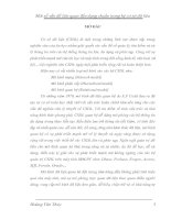 CÀI ĐẶT PHẦN MỀM TÍNH BAO ĐÓNG (A+) VÀ KIỂM TRA TÍNH BCNF CỦA SƠ ĐỒ QUAN HỆ