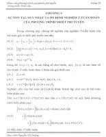 sự tồn tại và duy nhất và ổn định nghiệm T tuần hoàn của phương trình nhiệt phi tuyến