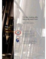 Tài liệu hướng dẫn Sản xuất sạch hơn