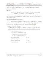 Thiết kế hệ thống xử lý môi trường không khí tại công ty cổ phần cao su Đà Nẵng