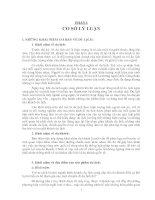 KHÁI NIỆM KHÁCH SẠN VÀ NỘI DUNG, ĐẶC ĐIỂM, BẢN CHẤT CỦA HOẠT ĐỘNG KINH DOANH KHÁCH SẠN