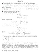 mở đầu về lời giải chỉnh hóa của phương trình tích phân loại một