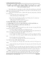 TÌM HIỂU CÁC BƯỚC GIẢI NHANH MỘT BÀI TOÁN VỀ LAI 1, 2 HAY NHIỀU CẶP TÍNH TRẠNG TƯƠNG PHẢN
