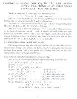 nhóm con chuẩn tắc của nhóm tuyến tính tổng quát trên vành chính quy von neumann