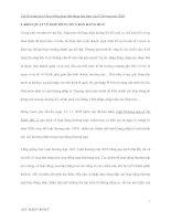 Chế độ pháp lý về hợp đồng mua bán hàng hóa theo Luật Thương mại 2005