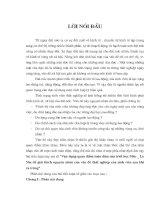 VẬN DỤNG QUAN ĐIỂM TOÀN DIỆN CỦA TRIẾT HỌC MAC LÊ NIN ĐỂ GIẢI THÍCH NGUYÊN NHÂN CỦA VẤN ĐỀ THẤT NGHIỆP CỦA SINH VIÊN SAU KHI RA TRƯỜNG