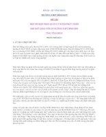 MỘT SỐ BIỆN PHÁP QUẢN LÝ NHẰM PHÁT TRIỂN ĐỘI NGŨ GIÁO VIÊN Ở TRƯỜNG THPT BÌNH SƠN TỈNH VĨNH PHÚC