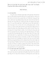 Khảo sát từ loại tiếng Việt trong truyện ngắn