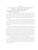 TÍN DỤNG NGÂN HÀNG ĐỐI VỚI SỰ PHÁT TRIỂN CỦA  DOANH NGHIỆP NHỎ VÀ VỪA