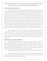 MỘT SỐ KINH NGHIỆM  GÂY HỨNG THÚ CHO HỌC SINH KHI DẠY HỌC MÔN NGỮ VĂN 9 VỀ CỤM VĂN BẢN NHẬT DỤNG