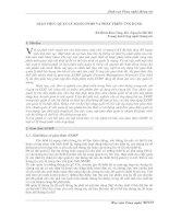 Giao thức quản lý mạng SNMP và phát triển ứng dụng