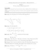 Đề thi học sinh giỏi trên máy tính lớp 9, ( đề 1)