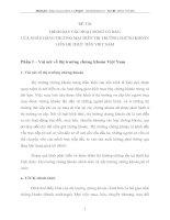 TRÌNH BÀY CÁC HOẠT ĐỘNG CƠ BẢN  CỦA NGÂN HÀNG THƯƠNG MẠI TRÊN THỊ TRƯỜNG CHỨNG KHOÁN LIÊN HỆ THỰC TIỄN VIỆT NAM
