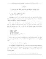 THỰC TRẠNG CÔNG TÁC PHÂN TÍCH TÀI CHÍNH  TẠI CÔNG TY CỔ PHẦN MAY 10