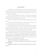 THỰC TRẠNG VÀ GIẢI PHÁP HOÀN THIỆN CÔNG TÁC THÔNG TIN Ở VĂN PHÒNG NHNO & PTNT HÀ NỘI