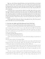 Bài tập tình huống môn Luật đất đai