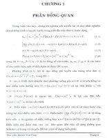 Khảo sát  phương trình sóng phi tuyến trong không gian Sobolev có trọng3