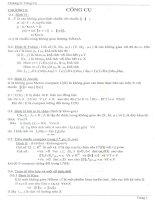 công cụ nghiên cứu lời giải chỉnh hóa của phương trình tích phân loại một