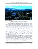 Tiểu luận môn marketing địa phương- tỉnh Kon tum