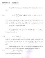 hệ phương trình hàm, chương 1