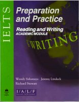 Preparation and Practice Reading Writing Academic Module PART 1