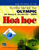 tuyển tập các đề olympic quốc tê hóa học phân tích