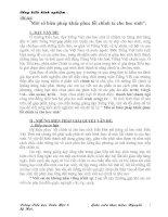 Một số biện pháp khắc phục lỗi chính tả cho học sinh