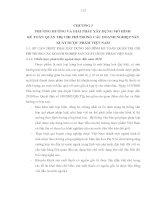 PHƯƠNG HƯỚNG VÀ GIẢI PHÁP XÂY DỰNG MÔ HÌNH  KẾ TOÁN QUẢN TRỊ CHI PHÍ TRONG CÁC DOANH NGHIỆP SẢN XUẤT DƯỢC PHẨM VIỆT NAM
