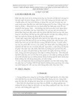 MỘT SỐ BIỆN PHÁP NHẰM NÂNG CAO CHẤT LƯỢNG BÀI VIẾT CỦA HỌC SINH BẬC THCS