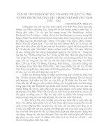 VẤN ĐỀ TIẾP NHẬN CÁC YẾU TỐ NGHỆ THUẬT CỦA THƠ TƯỢNG TRƯNG PHƯƠNG TÂY TRONG THƠ MỚI VIỆT NAM 1932 – 1945