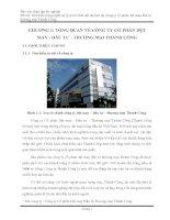 Tìm hiểu công nghệ xử lý nước thải dệt nhuộm tại công ty cổ phần dệt may đầu tư  thương mại Thành Công