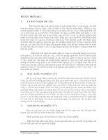 Phân tích tình hình tài chính công ty TNHH liên doanh CNTP An Thái