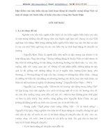Đặc điểm của câu biểu thị sự tình hoạt động di chuyển trong tiếng Việt và một số nhận xét bước đầu về kiểu câu này trong thơ Xuân Diệu