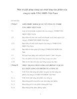 Giải pháp nâng cao chât lượng sản phẩm của công ty TNHH YNG SHIN Việt Nam