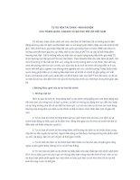 TỰ DO HÓA TÀI CHÍNH - KINH NGHIỆM CỦA TRUNG QUỐC, CANADA VÀ BÀI HỌC ĐỐI VỚI VIỆT NAM