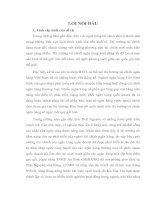 THỰC TRẠNG VÀ GIẢI PHÁP NHẰM  NÂNG CAO NĂNG LỰC CẠNH TRANH CỦA NGÂN HÀNG TMCP AN BÌNH (ABBANK) CHI NHÁNH THÁI NGUYÊN