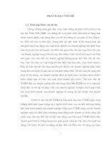 giải pháp nâng cao hiệu quả TTHH ở công ty thương mại Gia Lâm Hà Nội