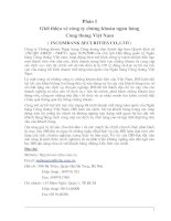 Giới thiệu về công ty chứng khoán ngân hàng công thương Việt Nam