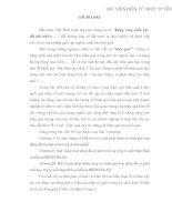 NÂNG CAO HIỆU QUẢ HOẠT ĐỘNG ĐẦU TƯ PHÁT TRIỂN TẠI CÔNG TY XUẤT NHẬP KHẨU VÀ ĐẦU TƯ IMEXIN HÀ NỘI